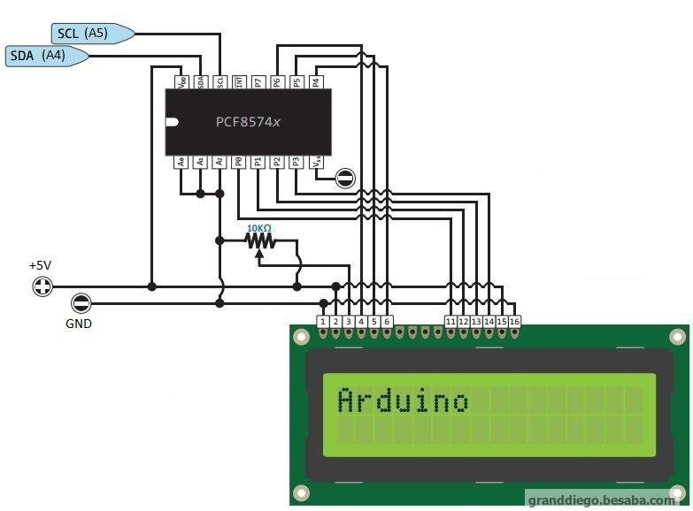 подключение дисплея по I2C