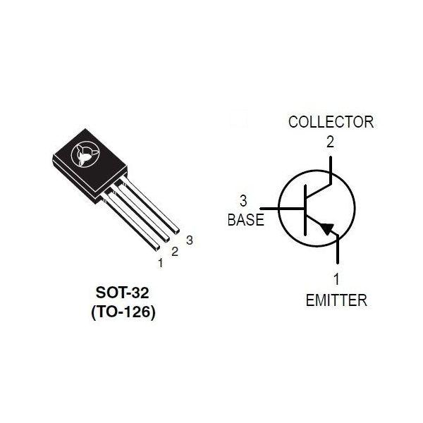 цоколевка BD140 pnp еранзистор