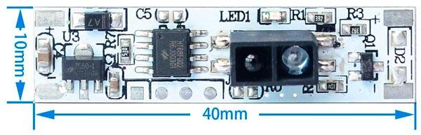 размеры датчика выключателя